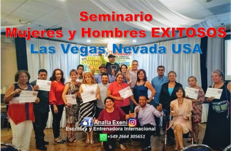 seminarios hombres y mujeres exitosos las vegas