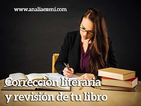  Corrección literaria y revisión de tu libro analia exeni
