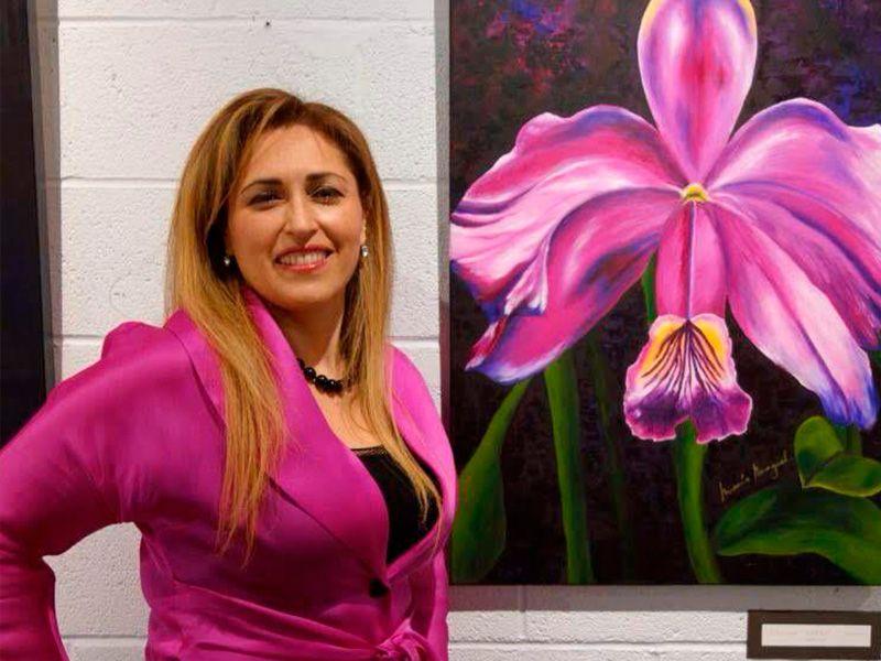 """""""Déjame pintar tu mundo con Amor, Armonía y Color"""". María Moguel"""